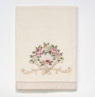 Rosefan Ivory Bath Towel