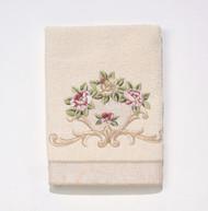 Rosefan Ivory Hand Towel