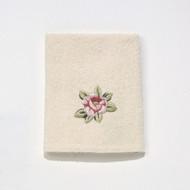 Rosefan Ivory Washcloth