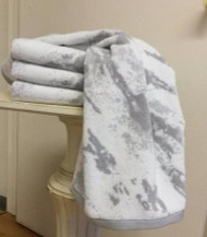 Marble Grey Oversized Hand Towel