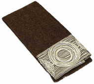Galaxy Mocha Fingertip Towel