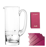 Sparkle Pitcher with Swarovski Crystals