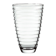 "Baguette Vase High Quality Glass 9.5""H"