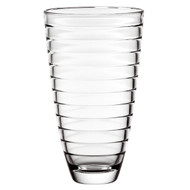 "Baguette Vase High Quality Glass 12""H"