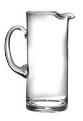 Classic Clear Cylinder Pitcher with Handle