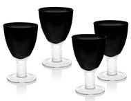 Galley Glasses Black (Set of 4)