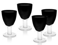 Galley Glasses Black (Set of 4)