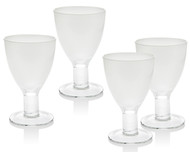 Galley Glasses White (Set of 4)