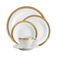 Goldsmith 5-Piece Place Setting Porcelain Gold