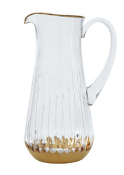 Atlanta Water Pitcher, 24K Gold