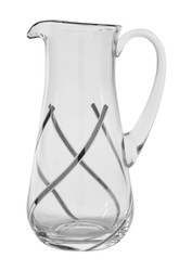 Vintage Water Pitcher, 24K Platinum