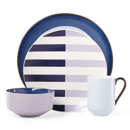 Nolita Blue 4-piece Place Setting