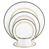 Library Lane Navy 5-piece Place Setting (Service for 1)