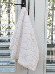 Luster Gold Oversized Hand Towel