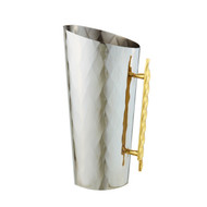 Geometric Stainless Steel Pitcher