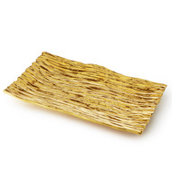 Gold Tree Bark Tray