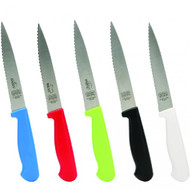 "Set of 3 6"" Knife - Pointed Tip/Wave Edge"