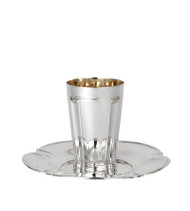 Garden Smooth Kiddush Set for Groom