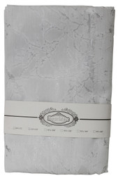 Jacquard Tablecloth in Silver