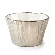 Silver Tree Bark Bowl, 16 oz