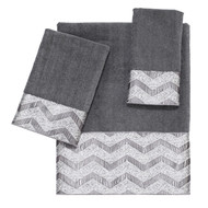 Chevron Galaxy Nickel Towels