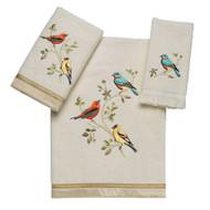 Gilded Birds Ivory