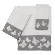 Yara White Towels