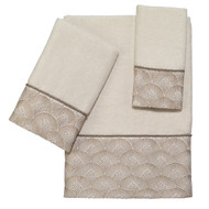 Deco Shell Ivory Towels