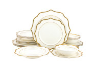 Goldie Dinnerware (Service for 4)