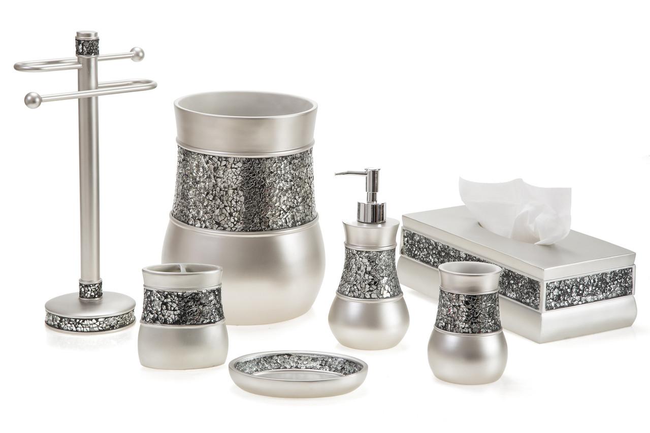 Brushed Nickel Bath Accessories Kallahregistry