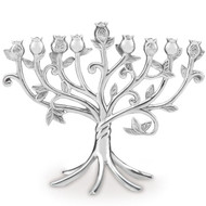 Lenox Pomegranate Metal Menorah