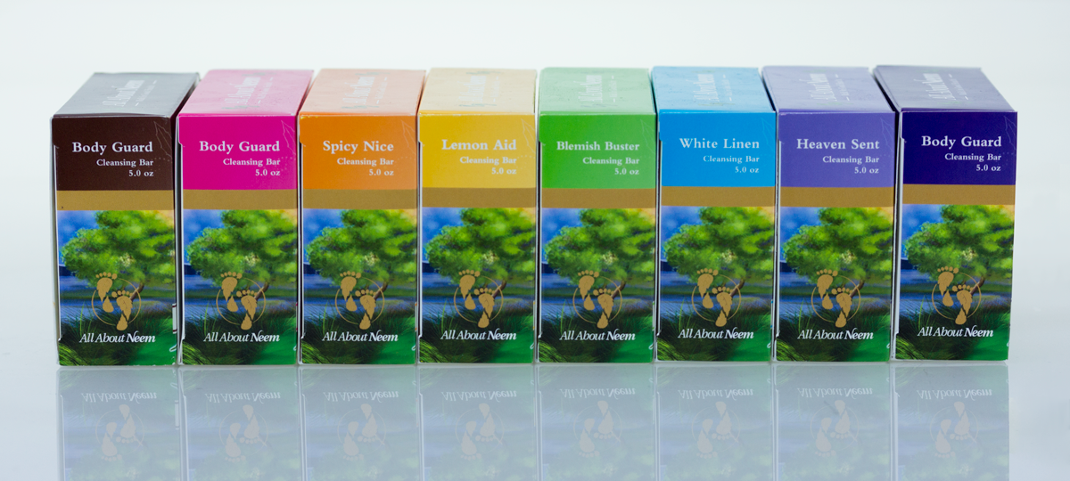 All About Neem- Neem Oil Bar Soaps for all skin types