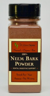 Pure Neem Bark Powder- Natural and Organic