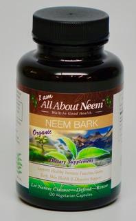 Organic Neem Bark Capsules
