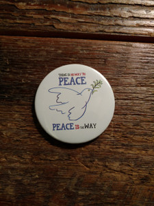 There is no way to peace, peace is the way  MAGNET