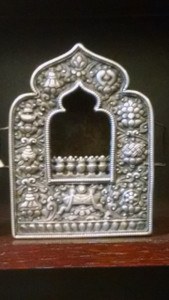 Ghau,Tibetan shrine box.