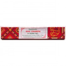 Shanthimalai (Red) Nag Champa - 40 gram    *Sales benefit women & children in rural villages in India*