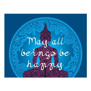 may all being be happy MAGNET