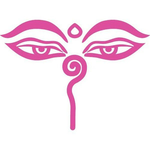buddha eyes Harmony decal