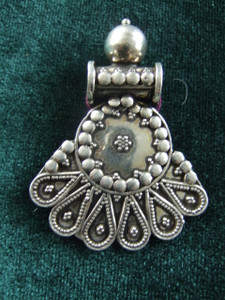 Indian peacock pendant