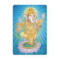 Dancing Ganesha sticker