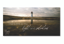 The Lord Is My Light And Salvation TimberArt Wood Photo Print 11x22