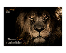 Whoever Trusts In The Lord Is Kept Safe TimberArt Wood Photo Print 12x18