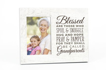 Blessed Are Those Who Spoil & Snuggle Picture Frame For A 4x6 Photo