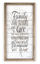 Family Like Branches On A Tree We All Grow In Different Directions Wood Farmhouse Wall Sign