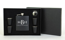 Personalized Engraved Flask Set