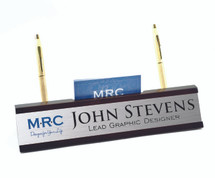 Personalized Desk Name Plate And Holder
