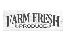 Farm Fresh Produce 6x18