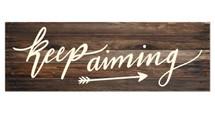 Keep aiming (Brown)