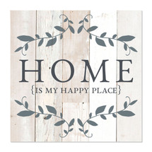 Home Is My Happy Place 12x12
